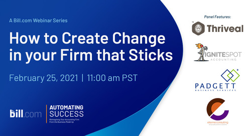 February 25 | 11:00 am PST: How to Create Change in your Firm that Sticks