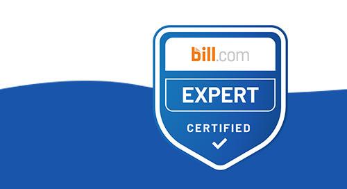 Bill.com Expert Certified Badge (for individuals)
