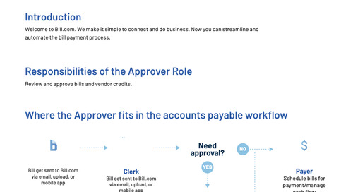 Overview and Training for Approver Role