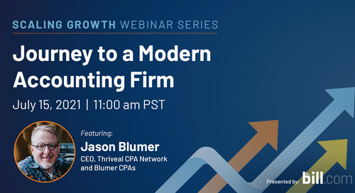 Webinar: Journey to a Modern Accounting Firm