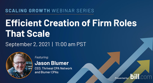 September 2 | 11:00 am PST: Efficient Creation of Firm Roles that Scale