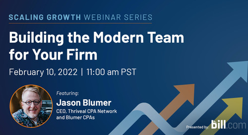 February 10, 2022 | 11:00 am PST: Building the Modern Team for Your Firm
