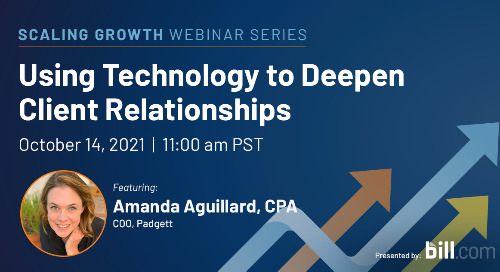 October 14 | 11:00 am PST: Using Technology to Deepen Client Relationships