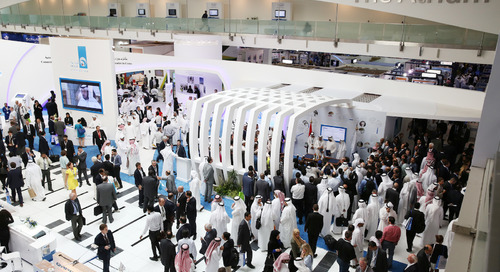 The Abu Dhabi National Exhibition Centre Adds FWI's Powerful Signage Platform