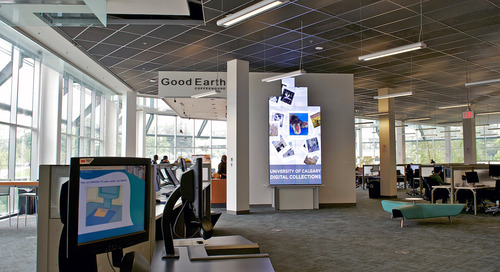 Digital Signage is a Key Component at the University of Calgary