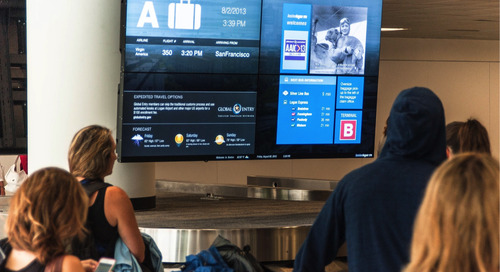 BOS Improves the Passenger Experience with Visual Communications