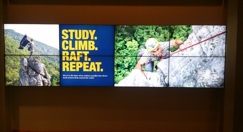 West Virginia University Utilizes FWI Software to Create a Centralized Digital Signage System