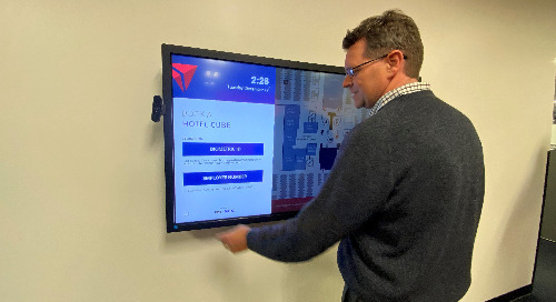 Improving the Workplace Experience at Delta Air Lines' HQ With a Biometric Hoteling Solution