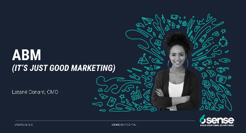 ABM is Just Good Marketing DECK - Hypergrowth 2019