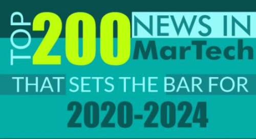 Rewinding 2019: Top 200 News in MarTech that Sets the Bar for 2020-2024, as seen on MarTech Series