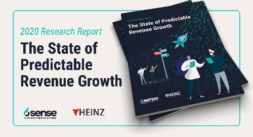 6sense State of Predictable Revenue Growth Report Offers Practical Insights for Sales & Marketing Leaders to Meet Revenue Goals