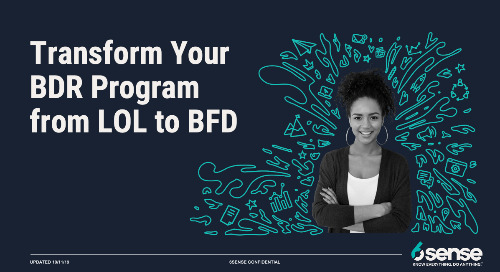 Transform Your BDR Program from LOL to BFD Webinar