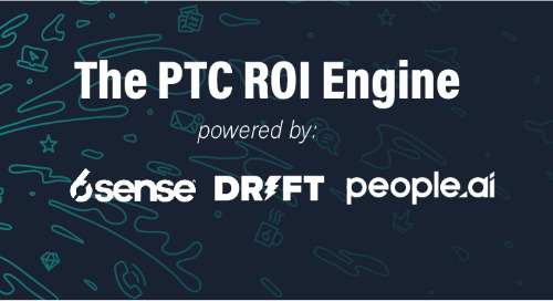 PTC named SiriusDecisions Program of the Year Winner for its ROI Engine in Partnership with 6sense, People.ai, and Drift