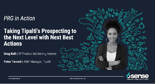 PRG in Action | Taking Tipalti's Prospecting to the Next Level with Next Best Actions