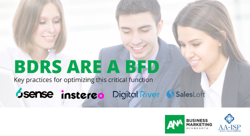 BDRs are a BFD with 6sense and Salesloft