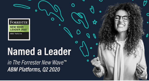 6sense Named a Leader in Forrester's ABM Wave