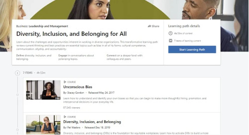 LinkedIn Offers Free Courses in Diversity and Inclusion to Improve Community Understanding