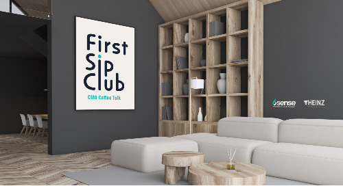 First Sip Club: CMO Coffee Talk Zoom Backgrounds