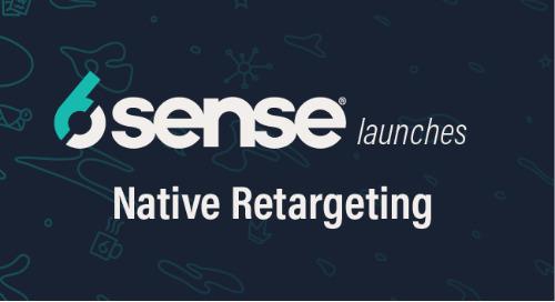 6sense's Advertising Capabilities Pull Ahead of ABM Pack with Native Retargeting