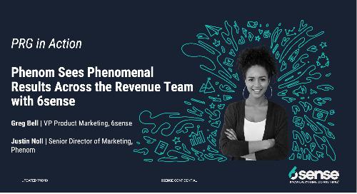 Phenom Sees Phenomenal Results Across the Revenue Team with 6sense