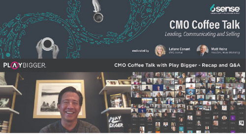 CMO Coffee Talk with Play Bigger - Recap and Q&A, as seen on PlayBigger