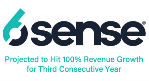 6sense Projected to Hit 100% Revenue Growth for Third Consecutive Year