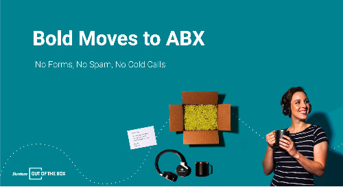 Bold Moves to ABX: No Forms, No Spam, No Cold Calls