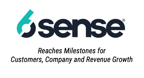 6sense Reaches Milestones for Customer, Company, and Revenue Growth