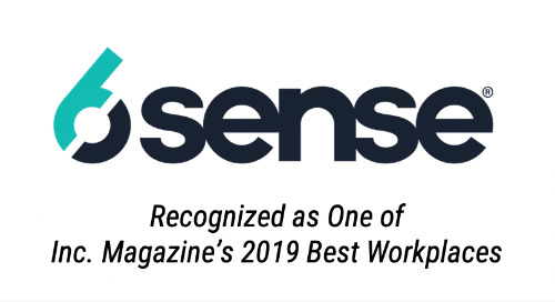 6sense Recognized as One of Inc. Magazine's 2019 Best Workplaces