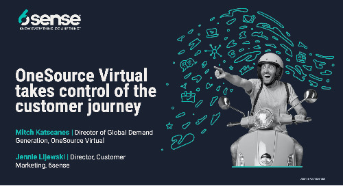 Onesource Virtual Takes Control Of the Customer Journey