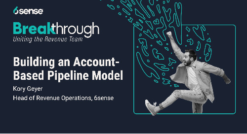 Building an Account-Based Pipeline Model with Kory Geyer, VP of Revenue Operations at 6sense