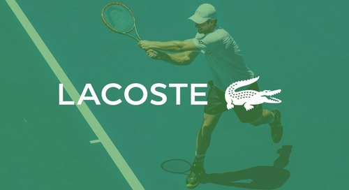 Lacoste achieves +150% sales contribution from search