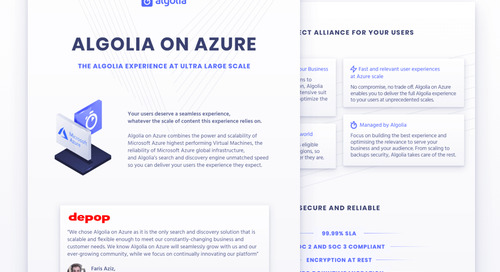 Algolia on Azure (for beginners)