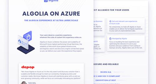 Algolia on Azure (for beginners)