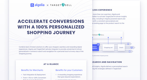 Algolia x Target2Sell