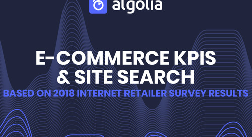 Ecommerce KPIs & Site Search
