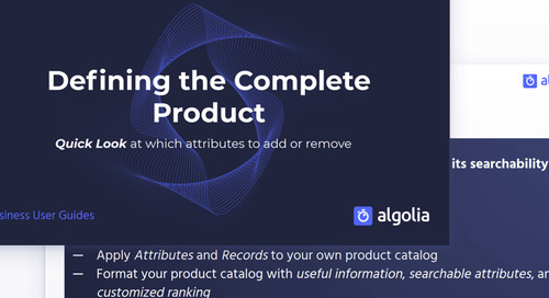 Defining a complete product