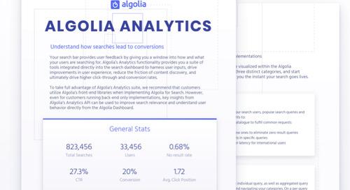 Algolia Analytics