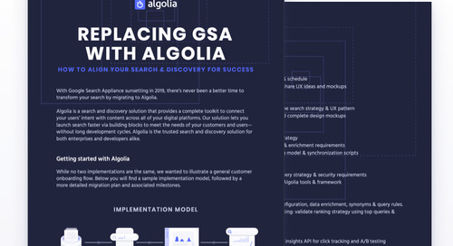 Replacing GSA with Algolia guide