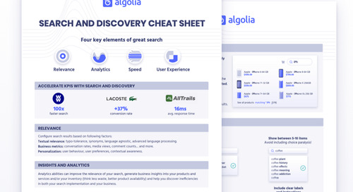 Search and discovery guide