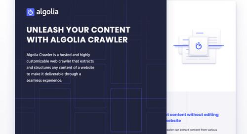 Algolia Crawler