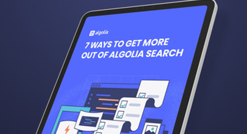 7 ways to get more out of Algolia search