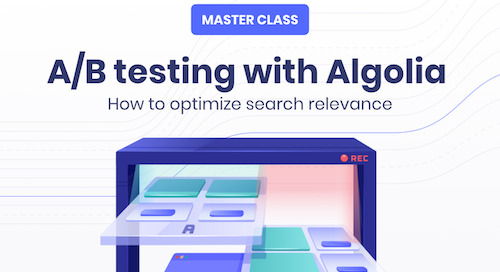 Master class: A/B testing with Algolia