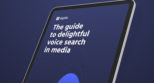The guide to delightful voice search in media