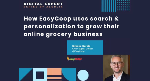 How EasyCoop uses best in class search and personalization to grow their business
