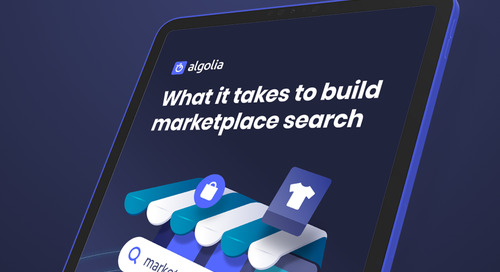 What it takes to build a powerful marketplace search
