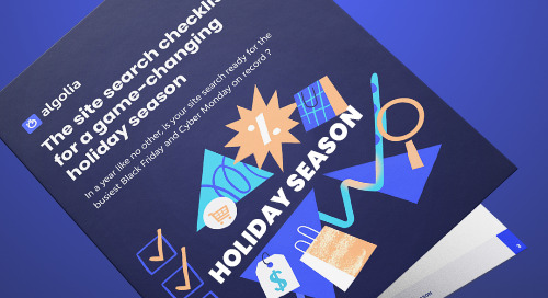 The site search checklist for a game-changing holiday season
