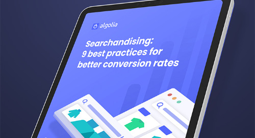 Searchandising: 9 best practices for better conversion rates