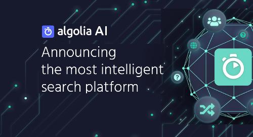 Algolia AI Fall '20 Webinar