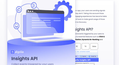 Build dynamic online experiences with Insights API